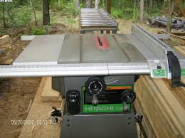 hitachi table saw price tool reviews in general woodworking