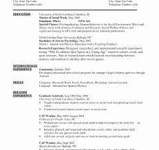 psychology resume template graduatel resume template luxury psychology undergraduate beautiful