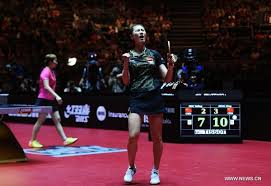 Table Tennis Championship Ding Ning Wins 3rd Women U0027s Singles Title At 2017 World Table