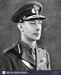 king george vi 1895 1952 king of great britain stock photo