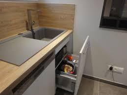 meuble sous evier cuisine poubelle de cuisine sous evier poubelle cuisine encastrable sous