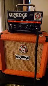 Orange Cabinet 4x12 Gear Ngd Prs Orange And More Guitar