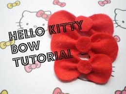 hello bows hello bow tutorial fieltro bow tutorial