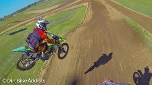 2nd hand motocross bikes gopro 2 vs 4 stroke battle at redbud motocross dirt bike