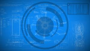 Video Backdrops Background Constructions Drawings And Blueprints Stock Footage