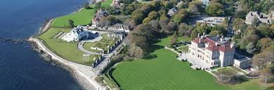 Famous Mansions Newport Mansions From The Air Newport Ri Helicopter Ride For