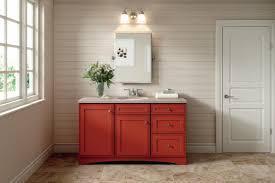 diamond intrigue delta maple fired brick bathroom cabinets