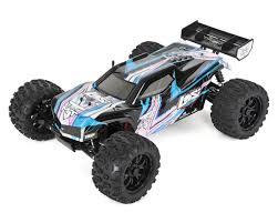 blue thunder monster truck videos ten mt 1 10 rtr 4wd brushless monster truck black blue by losi