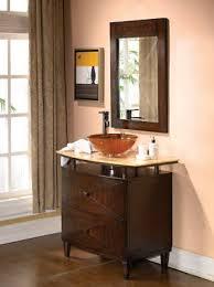 adelina 36 inch contemporary vessel sink bathroom vanity
