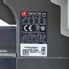mc 225a ac dc metasol magnetic contactors mc type lg meta mec ls