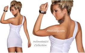 white dresses clubwear for women plus size club dresses