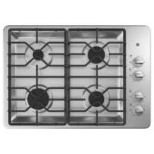 Ge Downdraft Gas Cooktop 30 In Gas Cooktops Cooktops The Home Depot
