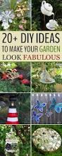 Garden Art To Make - 20 diy ideas to make your garden look fabulous