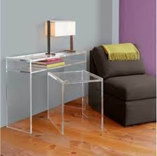 Thin Console Table Furniture Accessories Clear Modern Acrylic Narrow Console Table