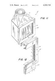 patent us4010728 circulating fireplace system google patents