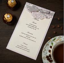 Engagement Party Invitation Cards Compare Prices On Card Invitation Menu Online Shopping Buy Low