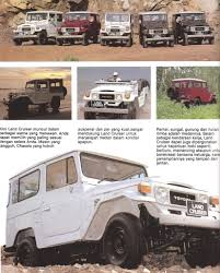 toyota land cruiser brochure 1981 toyota fj40 land cruiser a page from a brochure from flickr