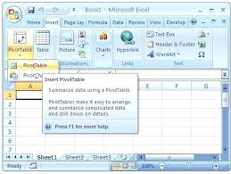 how to do a pivot table in excel 2010 how to do a pivot table in excel insert a pivot table in excel
