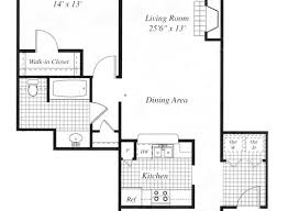 Bedroom Floor Plan The Grande Reserve At Geist Apartments In Indianapolis