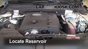 audi windshield add windshield washer fluid audi a4 quattro 2009 2016 2009