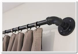 conduit pipe curtain rod savae org
