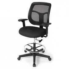 Chairs For Standing Desks Apollo Mesh Back Tall Office Chairs For Standing Desks Picture 57