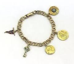 vintage bracelet ebay images 14k gold charm bracelet ebay JPG
