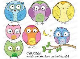 simple owl clip art 77