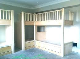 Built In Bunk Bed Built In Bunk Beds Paradoxproductions Site