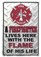 Firefighter Home Decorations Home Decor For Firefighters