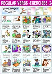 worksheet regular verbs u2013exercises 2