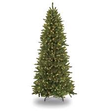 12 ft pre lit incandescent slim fraser fir artificial