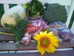 What S In Flower Food What U0027s In The Box U2013 Eighth And Ninth Delivery Of My Csa From Eagle