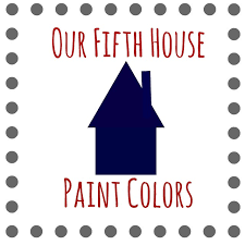 our house paint colors our fifth house