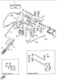 yamaha steering diagram yamaha 15 outboard steering diagram