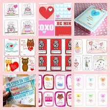 kid valentines free printables kid cards curbly