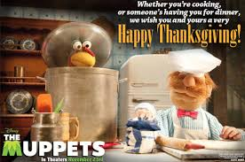 wishing you a happy thanksgiving happy thanksgiving from the muppets