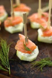 smoked salmon and cream cheese cucumber bites baker by nature