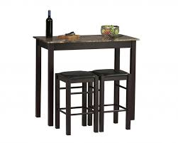 Bistro Table For Kitchen by Awesome High Top Bistro Table And Chairs 25 Best Ideas About High