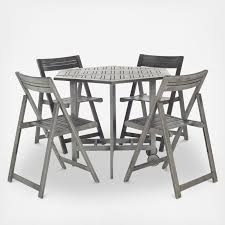 Fold Up Outdoor Chairs Outdoor Collapsible Dining Table Set Zola