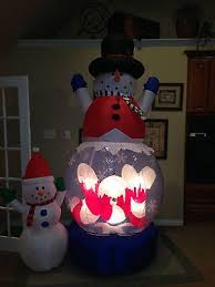 Air Blown Christmas Decorations 1247 Best Inflatables Images On Pinterest Snowman Christmas