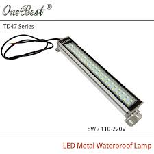 explosion proof led work light hntd 8w 110 220v td47 led metal panel light cnc machine tool