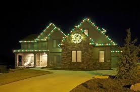 alternating c9 led lights