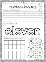 numbers to 20 printables numeral numbers number words and ten