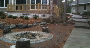 warm and toasty fire pits installed by bundschuh landscape