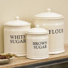 Tuscan Canisters Kitchen by Large Canister Sets Foter
