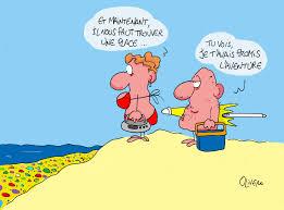 l u0027été la plage olivero dessin de presse