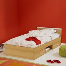 Single Bedroom Teen Girls Bedroom Furniture Ideas Using White Wooden Single Bed