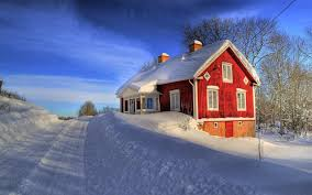 Winter Houses House Snow Winter Wallpaper 1920x1200 84645 Wallpaperup