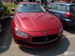 red maserati sedan maserati ghibli 2013 25 july 2013 autogespot